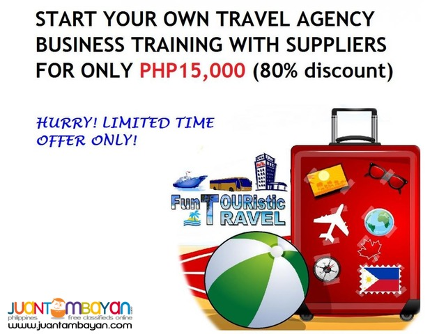 TRAVEL AGENCY BUSINESS TRAINING