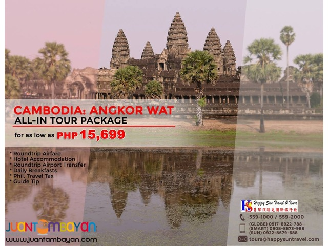 Cambodia: Angkor Wat All-In Tour Package