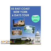 6D5N US East Coast Tour Package