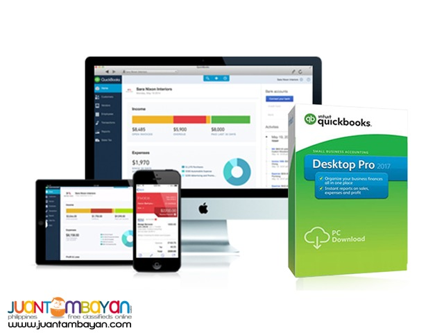 Quickbooks PRO 2017 International