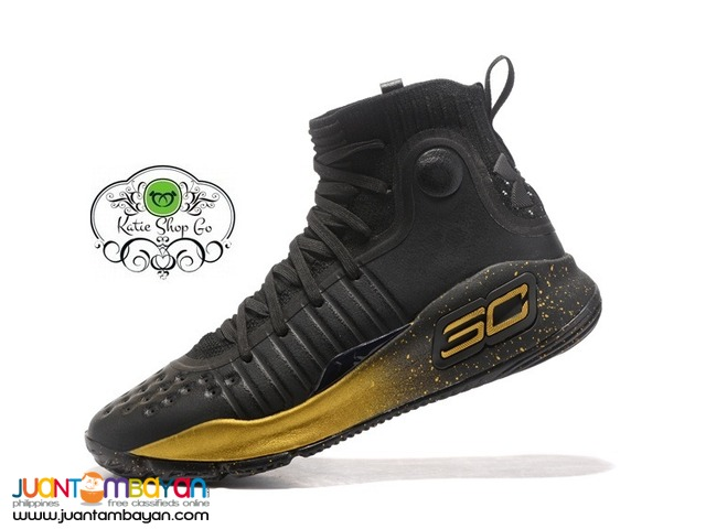 Under Armour Curry 4 Men's Basketball Shoes - RUBBER SHOES