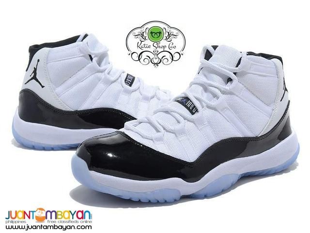 Air Jordans 11 Retro Concord Men's Basketball Shoes - RUBBER SHOES