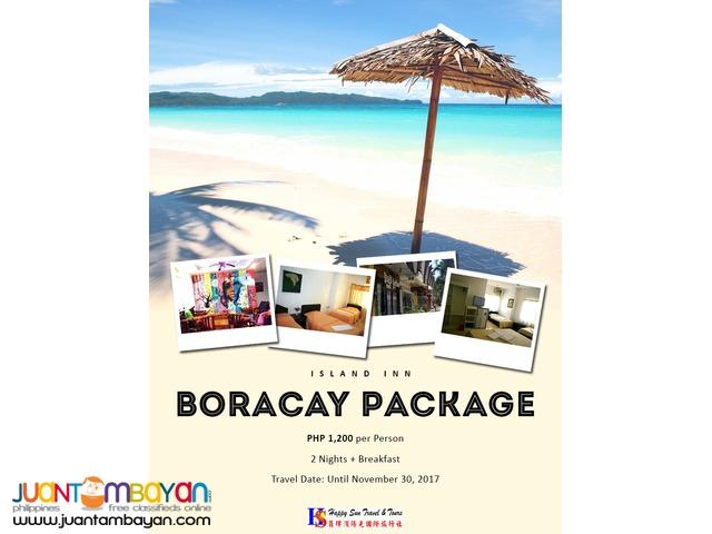 3D2N Boracay Package