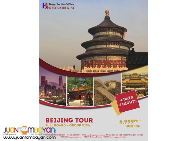 3D2N Beijing Full Board Package