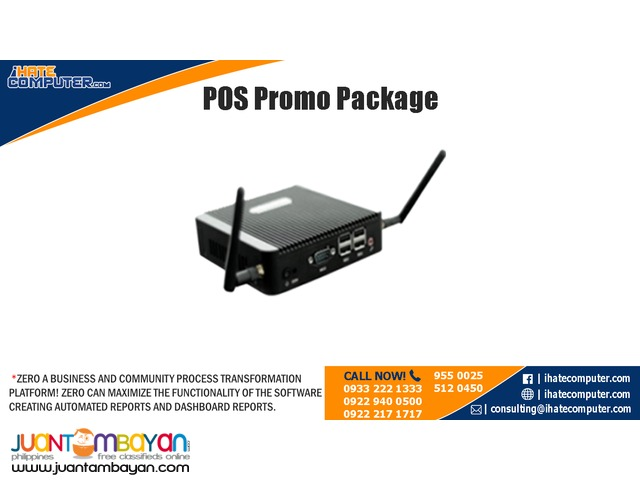 POS Promo Package by ihatecomputer.com