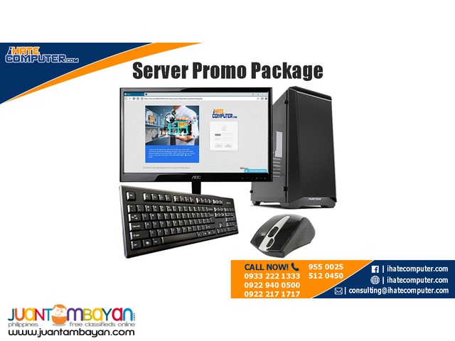 Server Promo Package by ihatecomputer.com