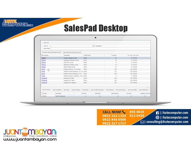 SalesPad Desktop by ihatecomputer.com