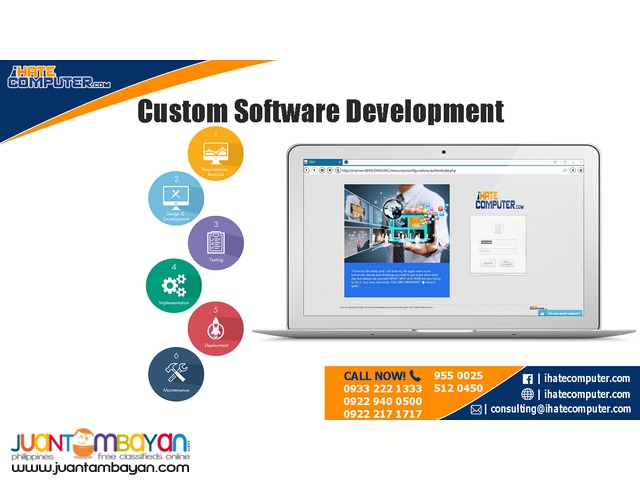 Custom Software Development by ihatecomputer.com