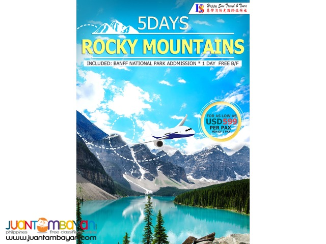 Rocky Mountains Tour Package