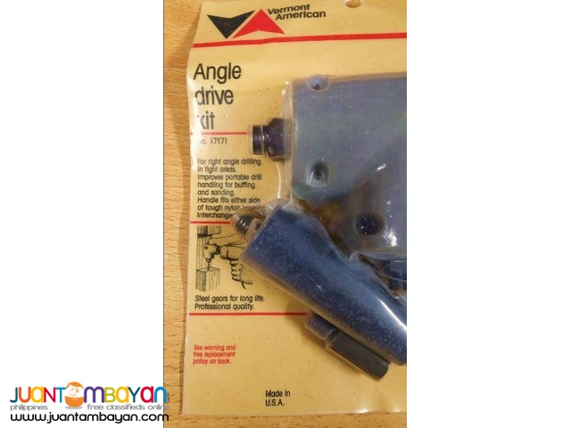 Vermont American 17171 Angle Drive Drill Kit