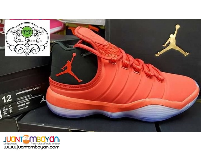 Jordan Super Fly 2017 - SUPERFLY Men's Basketball Shoes - RUBBER SHOES