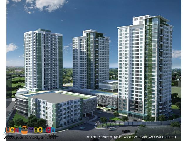 Davao City ayala high end condo patio suites abreeza place