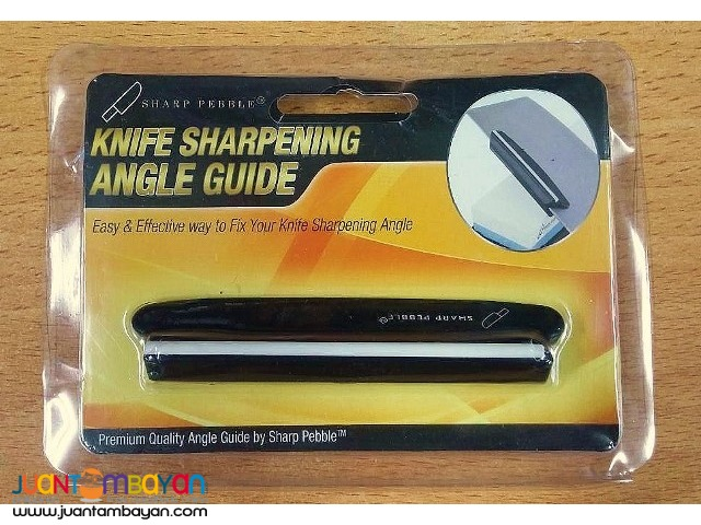 Sharp Pebble Whetstone Knife Sharpening Angle Guide