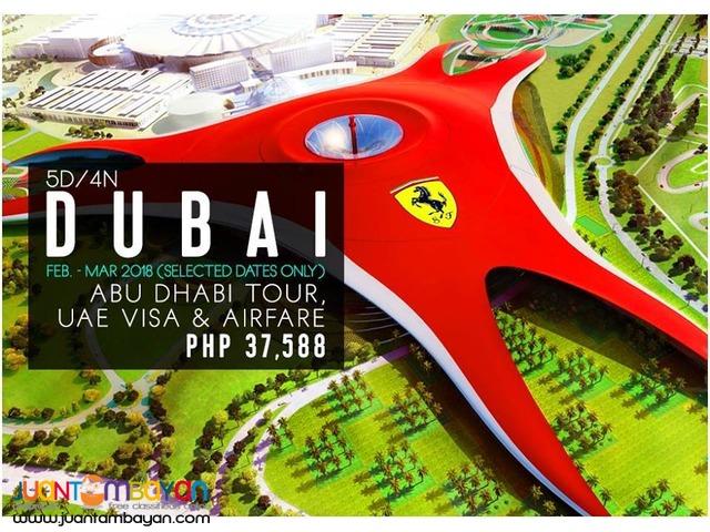 5d4n Dubai with Abu Dhabi + UAE Visa