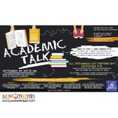JROOZ PTE Academic Talk – September 30, 2017