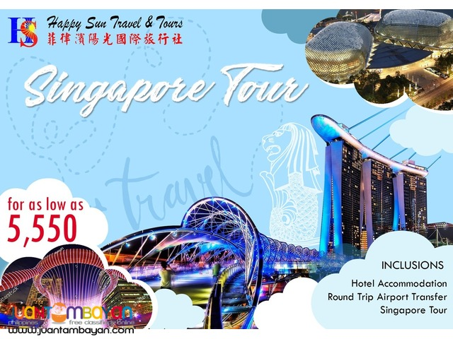 3D2N Singapore Tour Package