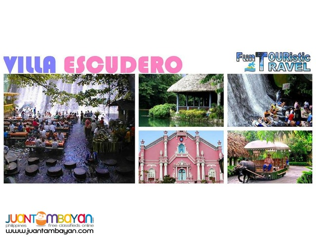 VILLA ESCUDERO DAY TOUR WITH BUFFET LUNCH