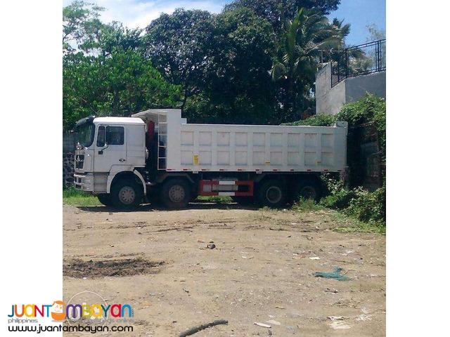 12-Wheeler SHJ10 Dump Truck, 371HP, 25m³