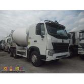 10 Wheeler HOWO-A7 Mixer Truck, 371HP, 10m³