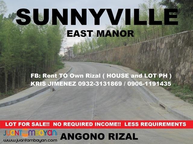 OVERLOOKING LOT NEAR SMA ANGONO and THUNBIRD @ SUNNYVILLE EAST MANOR