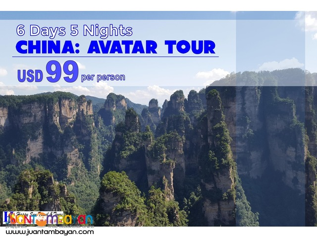 6D5N China Avatar Tour Package