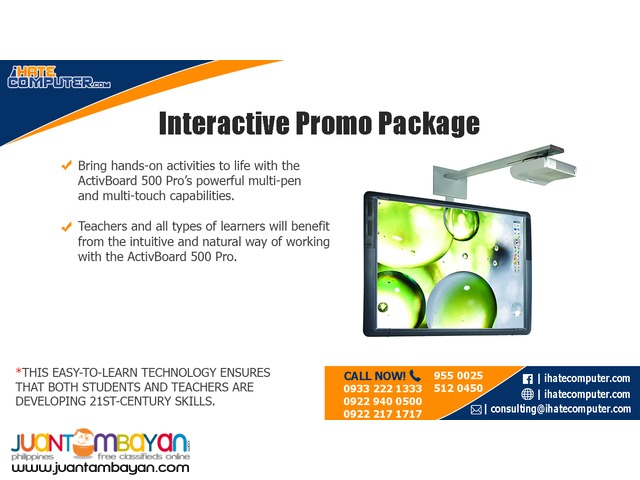 Interactive Whiteboard Promo Package