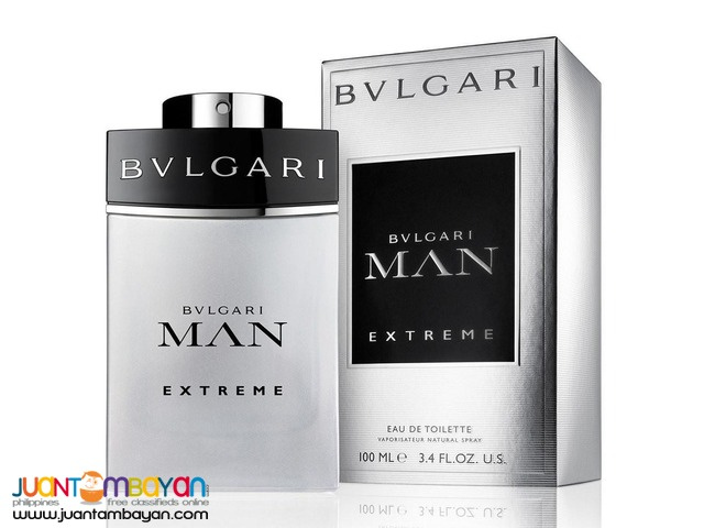 Authentic Perfume Bvlgari Man Extreme 100ml - BVGARI PERFUME