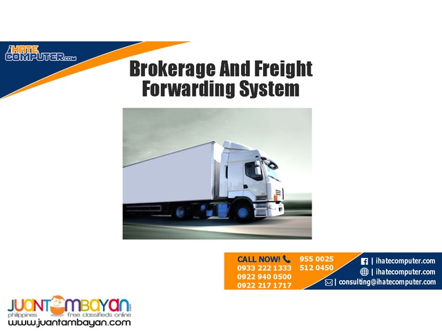 Brokerage and Freight Forwarding System