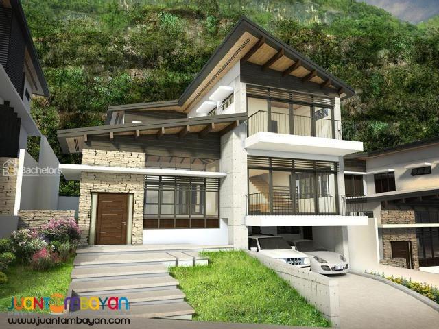 3LVL HOUSE W/SWIMMING POOL THE PEAKS MONTERAZZAS DE CEBU MODEL B