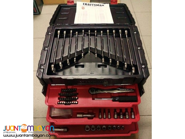 Craftsman 270-piece Mechanics Tool Set with 3-Drawer Chest