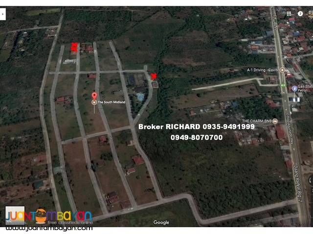 SOUTH MIDLAND Silang Cavite Lots = 6,900/sqm