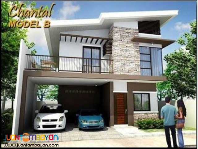 2 storey house Chantal model at South City Homes Minglanilla Cebu