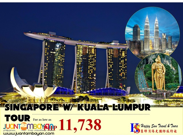 Singapore with Kuala Lumpur Tour Package