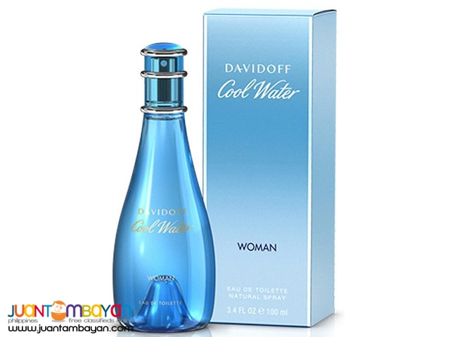 Authentic Perfume - Davidoff Cool Water Women 100ml