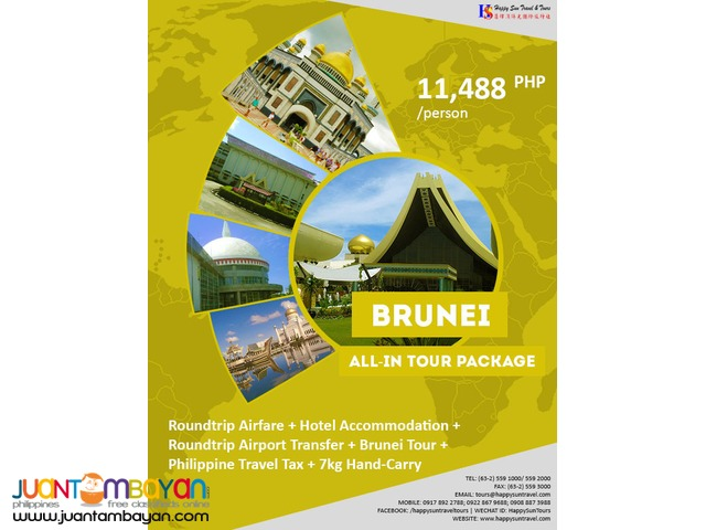 Brunei All-In Tour Package