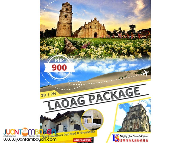 3D2N Laoag Package