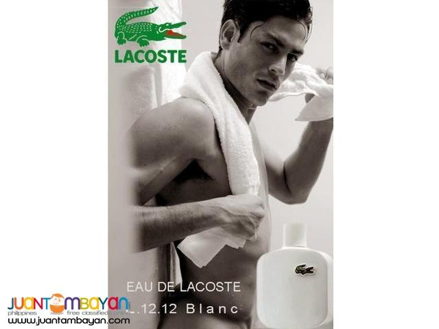 Authentic Perfume - Eau de Lacoste Blanc LACOSTE PERFUME L.12.12