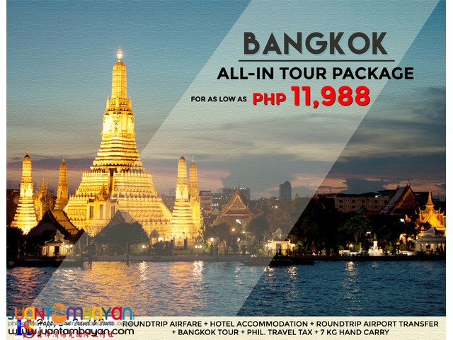 Bangkok All-In Tour Package