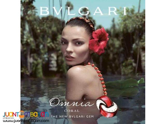 Authentic Perfume - Bvlgari Omnia Coral