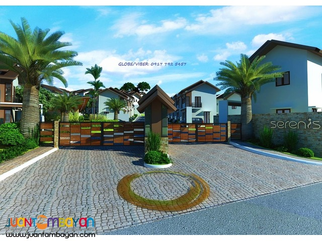 UPHILL HOUSE MODEL IN SERENIS SUBDIVISION, YATI, LILOAN, CEBU
