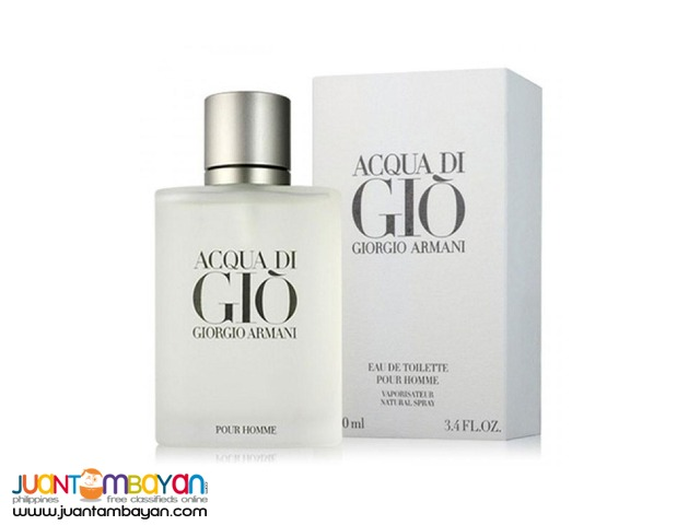 Authentic Perfume - Giorgio Armani Acqua Di Gio 100ml
