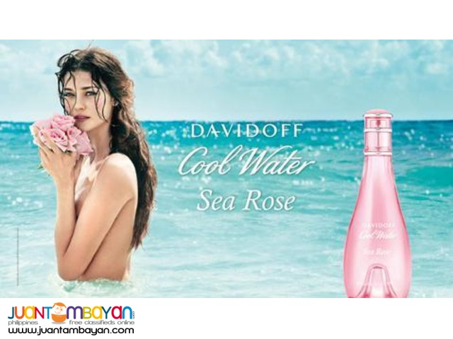 Authentic Perfume - Davidoff Cool Water Sea Rose 100ml