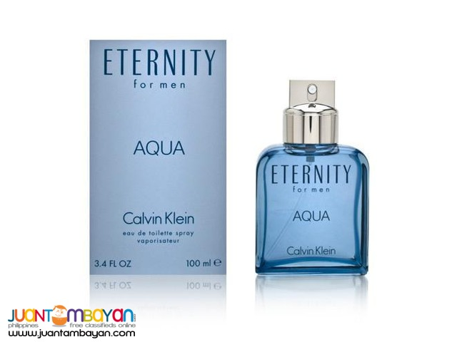 Authentic Perfume - Calvin Klein Eternity Aqua Men 100ml