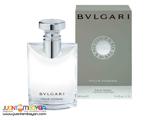 Authentic Perfume - Bvlgari Pour Homme 100ml