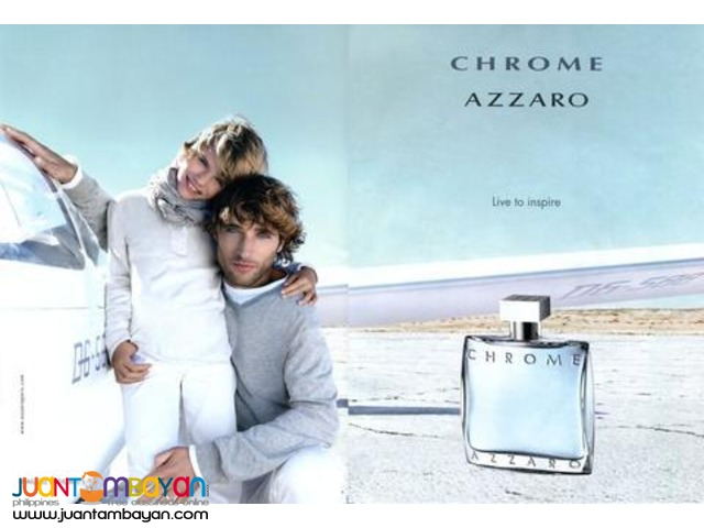 Authentic Perfume - Azzaro Chrome 100ml