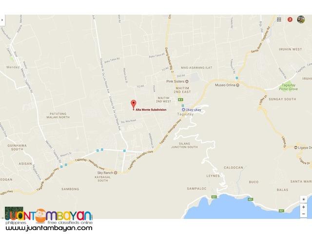 ALTA MONTE Tagaytay Mid Rise CONDO UNITS - 56 sqm to 123 sqm FA