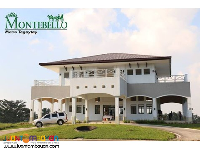 ALTA MONTEBELLO Metro Tagaytay House and Lots