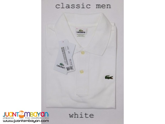 LACOSTE CLASSIC POLO SHIRT FOR MEN