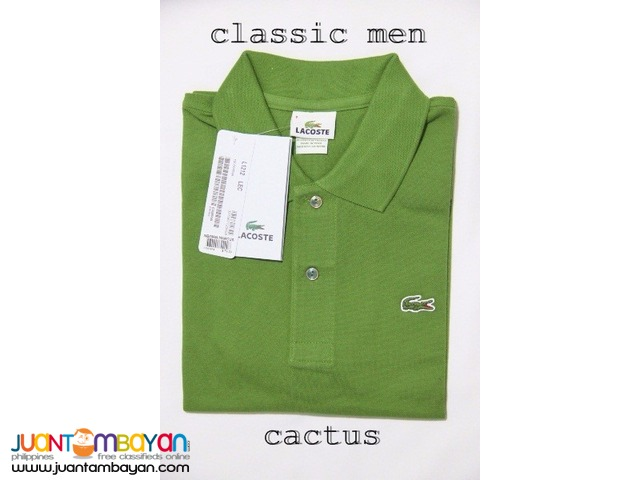 LACOSTE CLASSIC POLO SHIRT FOR MEN - REGULAR FIT