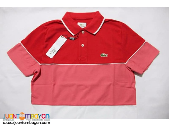 LACOSTE BLOCK PIQUE POLO SHIRT FOR MEN